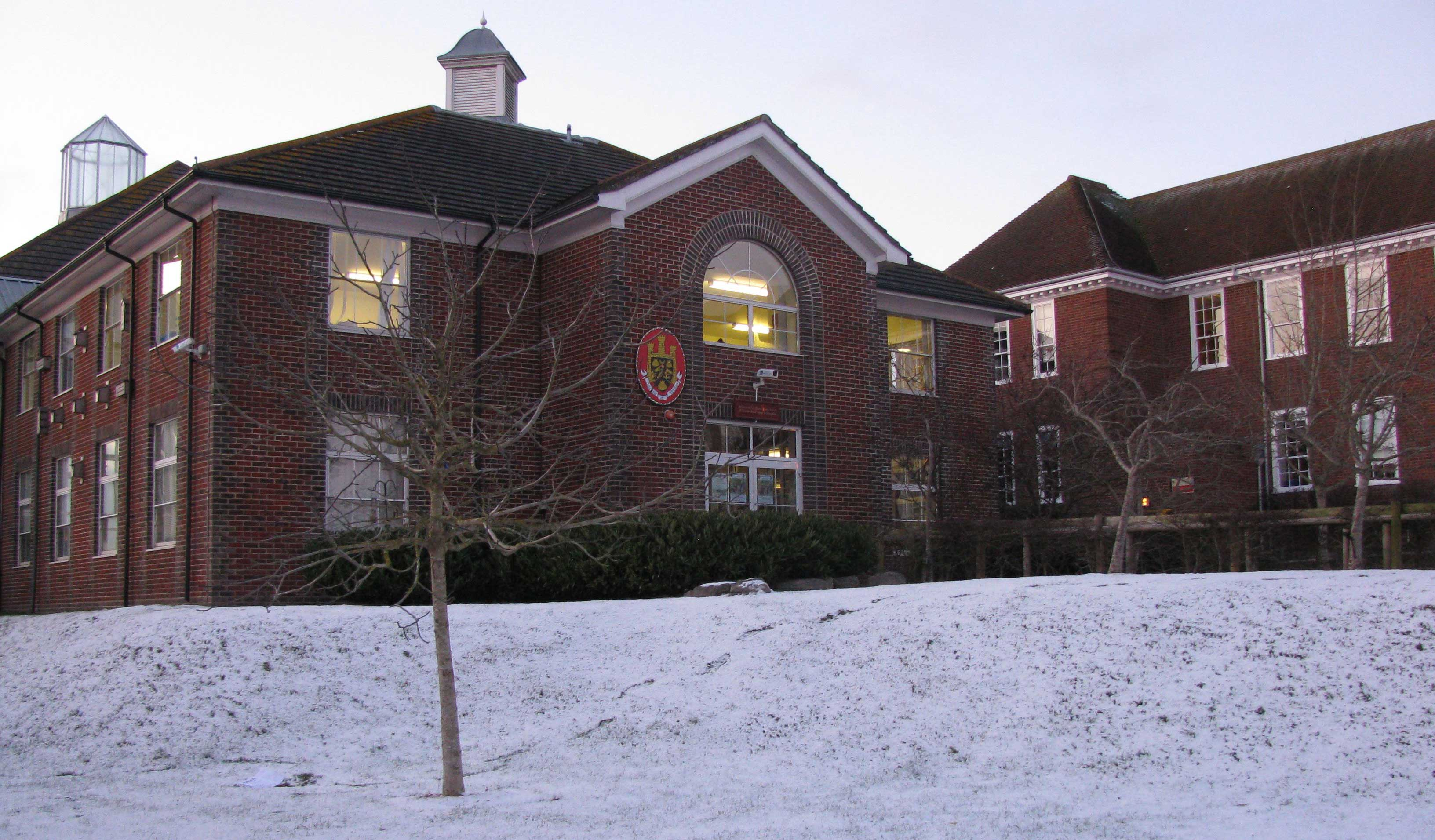 Snow at The Thomas Hardye School