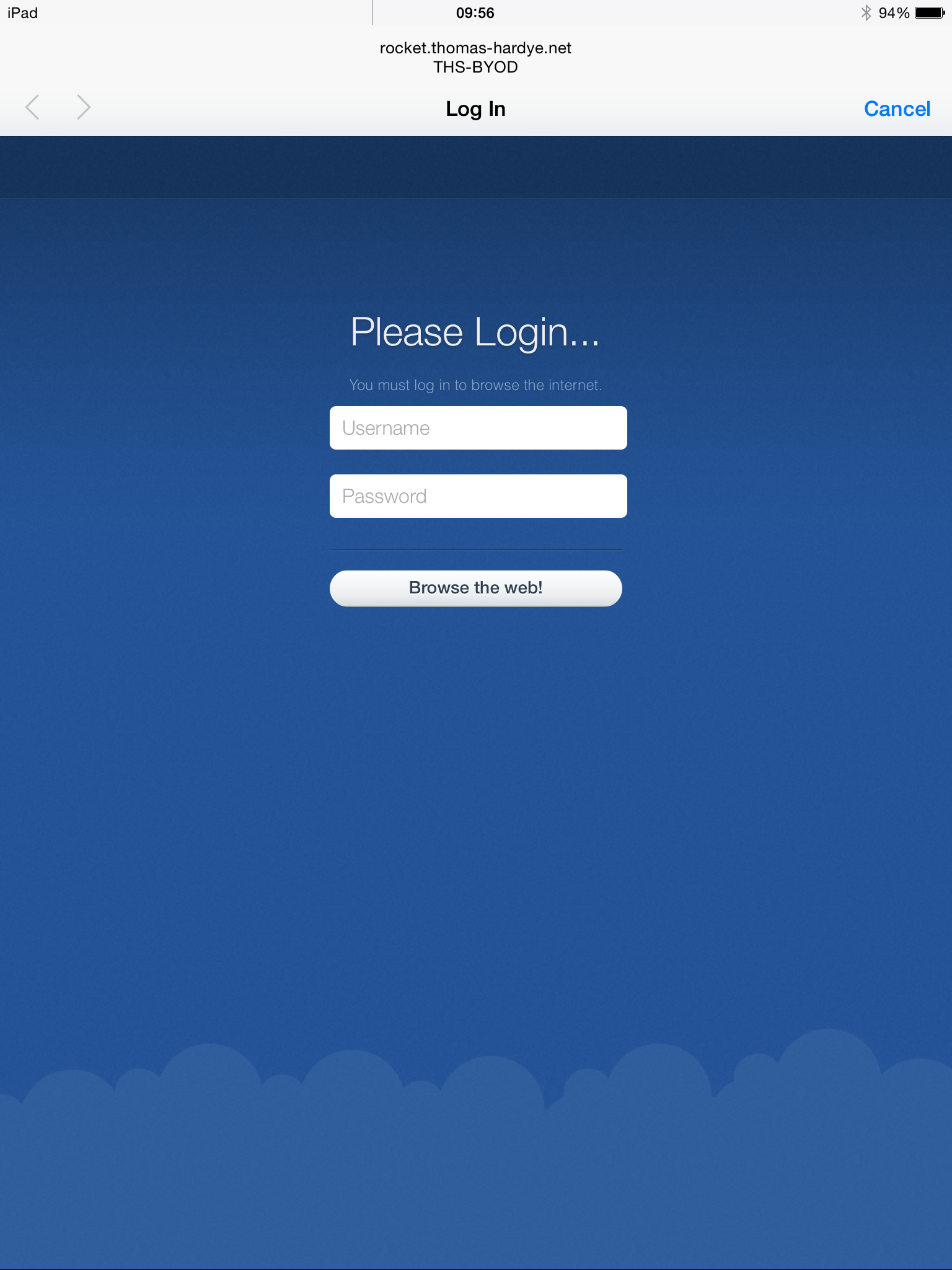Firewall Login